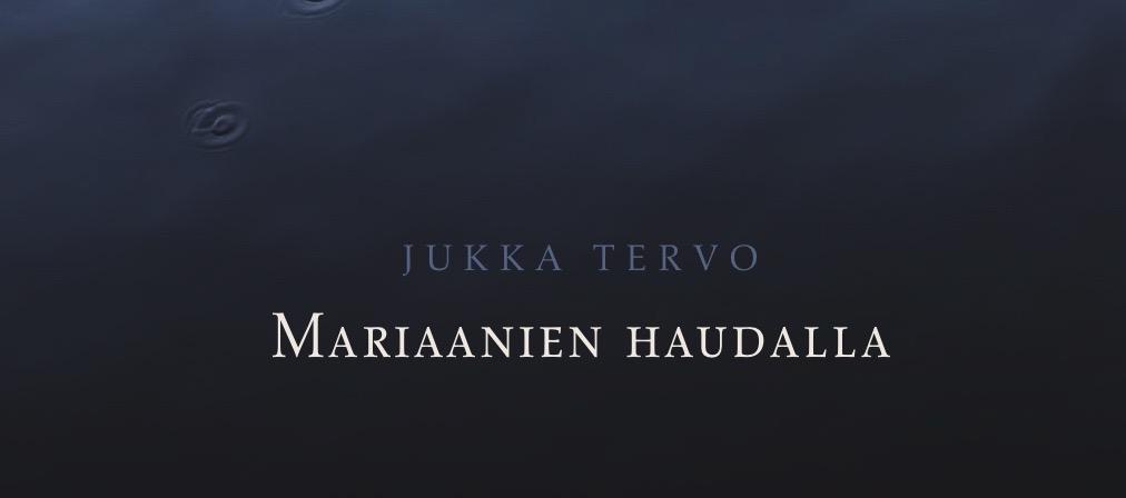 Uusi romaanini Mariaanien haudalla on ilmestynyt